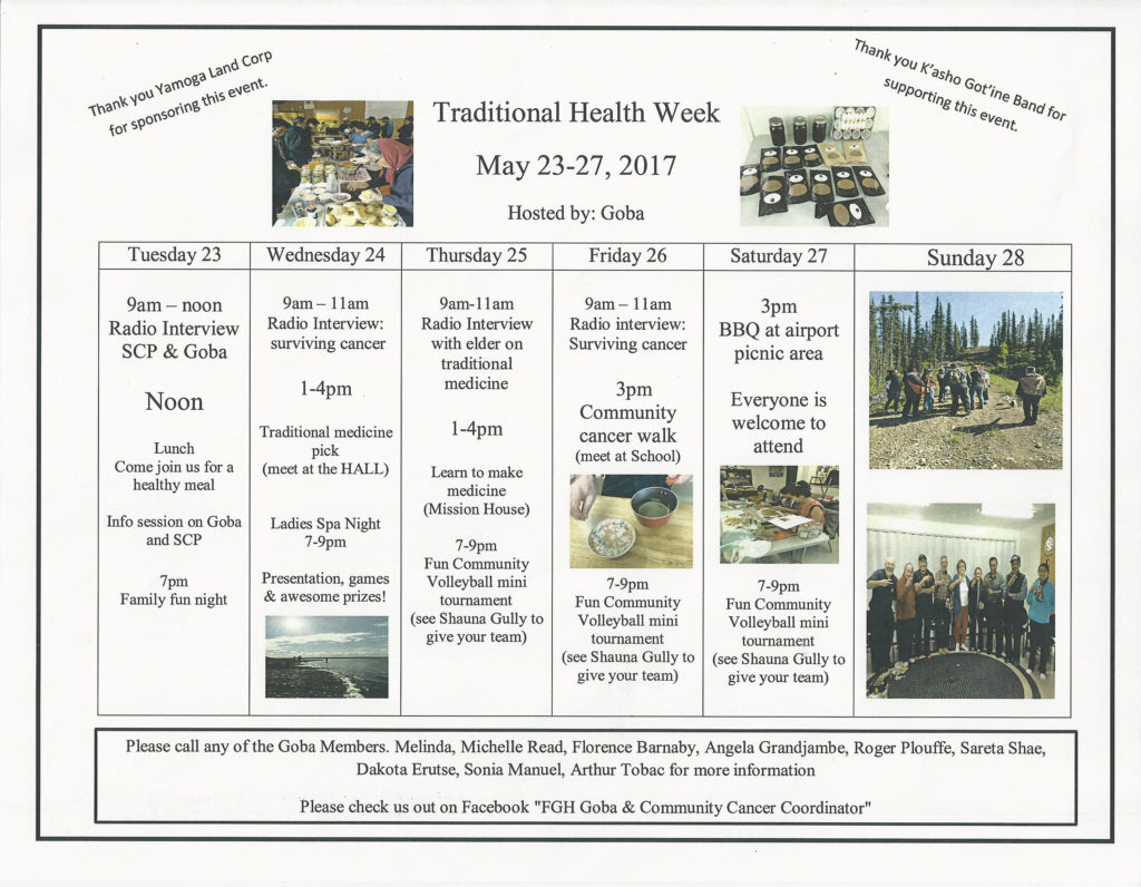 Traditional Health Week 2017